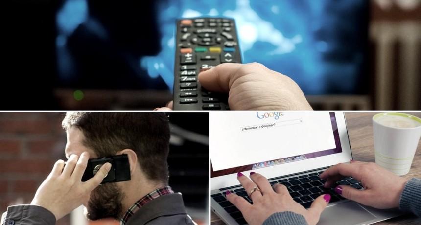 Congelan las tarifas de telefonía, internet y TV paga, hasta agosto