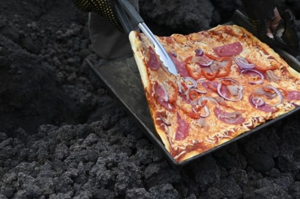 Guatemala presenta sus pizzas volcánicas
