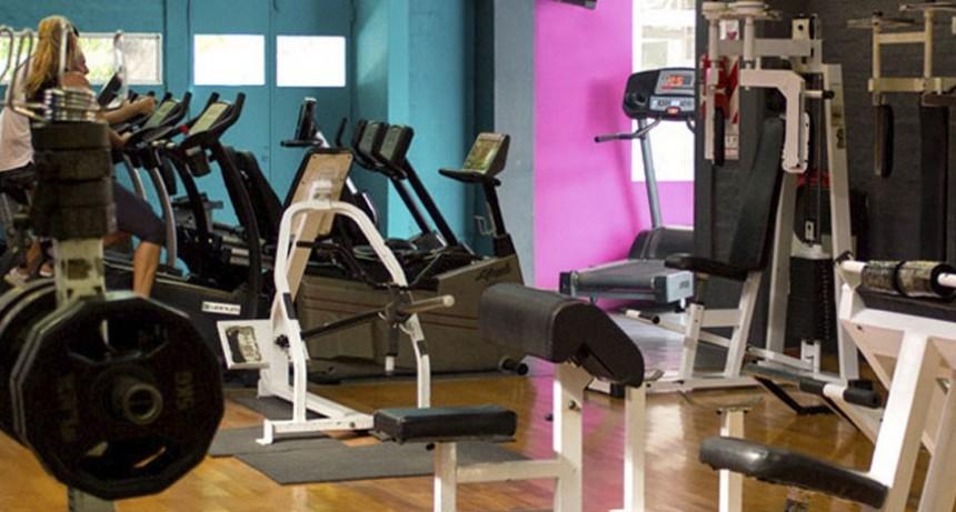 Los gimnasios siguen funcionando en la ciudad de Santa Fe