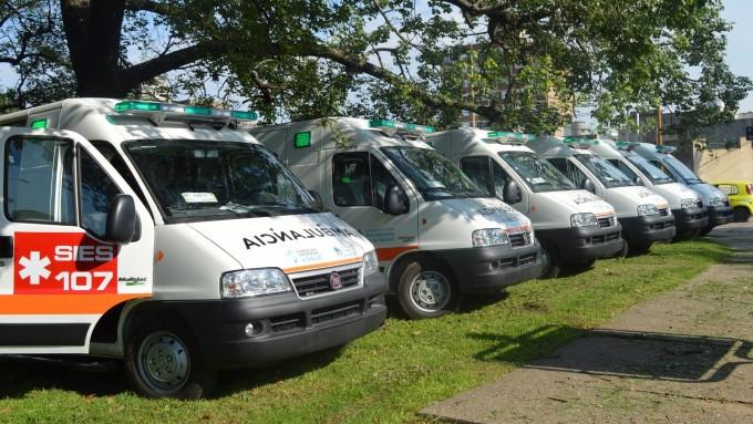 La Provincia tendrá 57 ambulancias nuevas