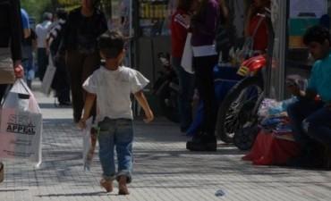Más de un millón de niños trabaja en nuestro país