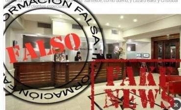 Cristina Fernández negó ser la dueña de otro hotel
