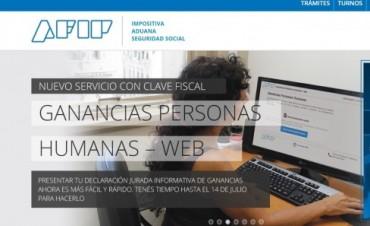 AFIP prorrogó hasta el 14 de julio la presentación de las declaraciones juradas de Ganancias y Bienes Personales para personas humanas