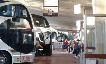El transporte interubano de pasajeros aumenta un 15 por ciento desde el domingo