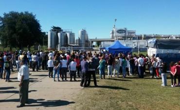 Los trabajadores de la planta láctea de Centeno realizarían un corte en la Ruta Nacional 34