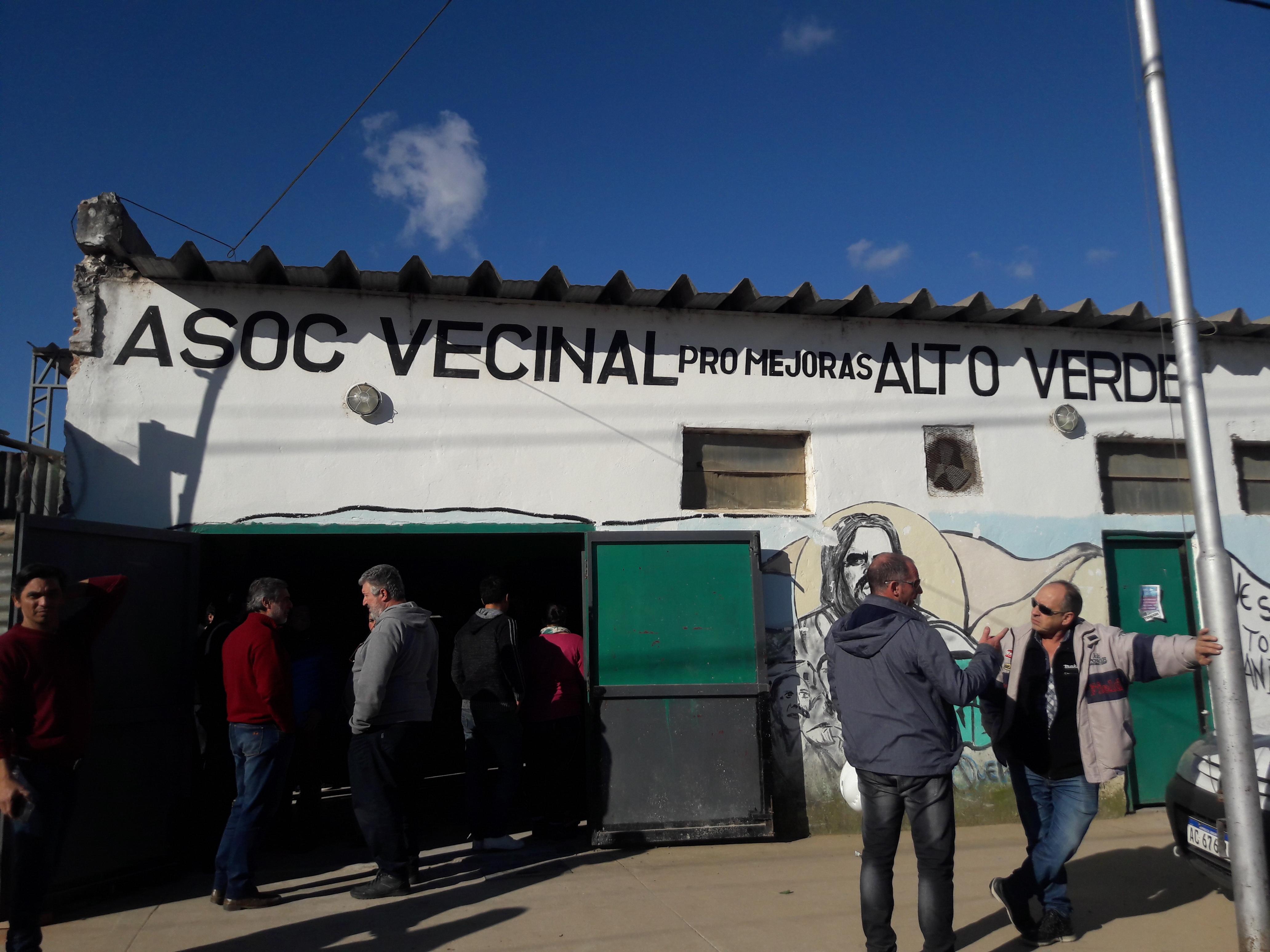 Las obras de infraestructura en Alto Verde se encuentran en su tercera etapa