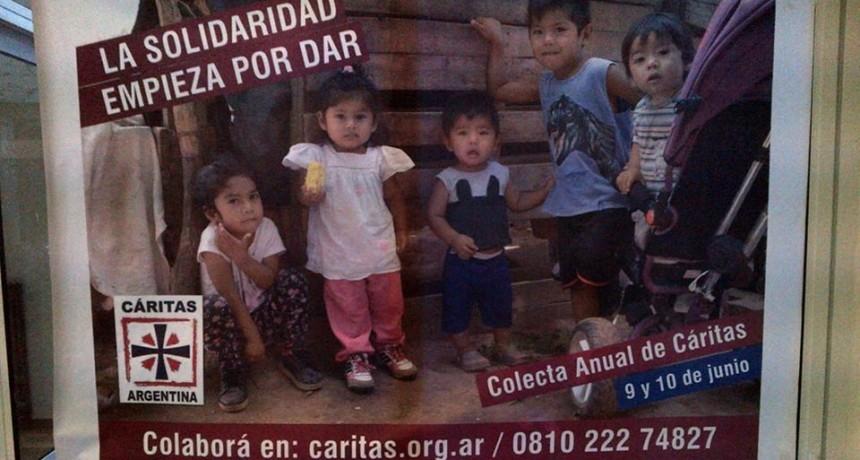 La Colecta anual de Cáritas se realiza este fin de semana