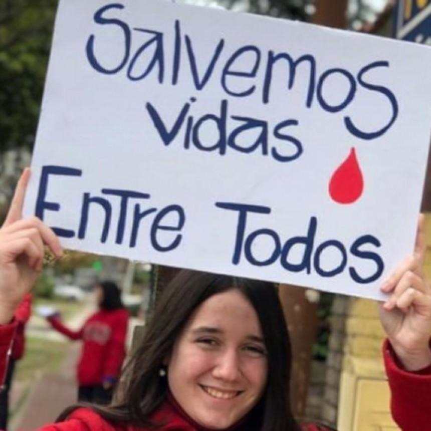 Colecta de sangre por el día Mundial del Donante