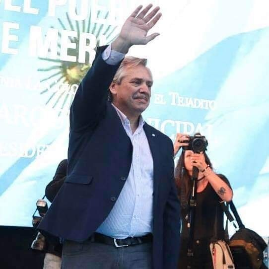 Alberto Fernández descartó que Cristina Kirchner se baje de su candidatura a vicepresidenta