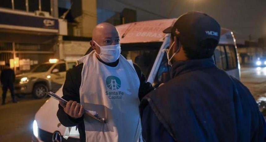 Se realizó un relevamiento de personas en situación de calle en Santa Fe