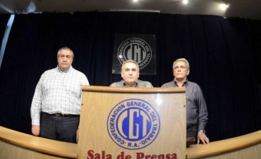 La CGT convocará a una movilización contra el gobierno