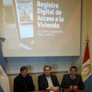 La Provincia presenta el Registro Digital de Acceso a la Vivienda