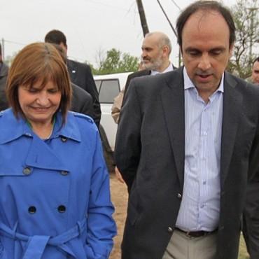 José Corral y Patricia Bullrich inauguran más de 50 cámaras de seguridad