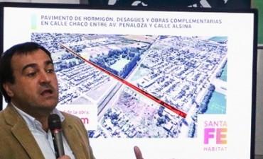La Provincia licitaría la pavimentación de calle Chaco en septiembre