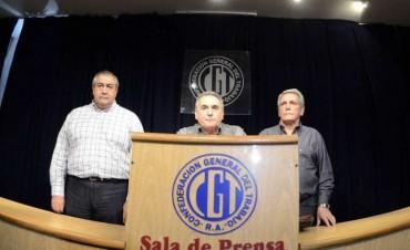 La CGT ratificó la movilización prevista para el 22 de agosto