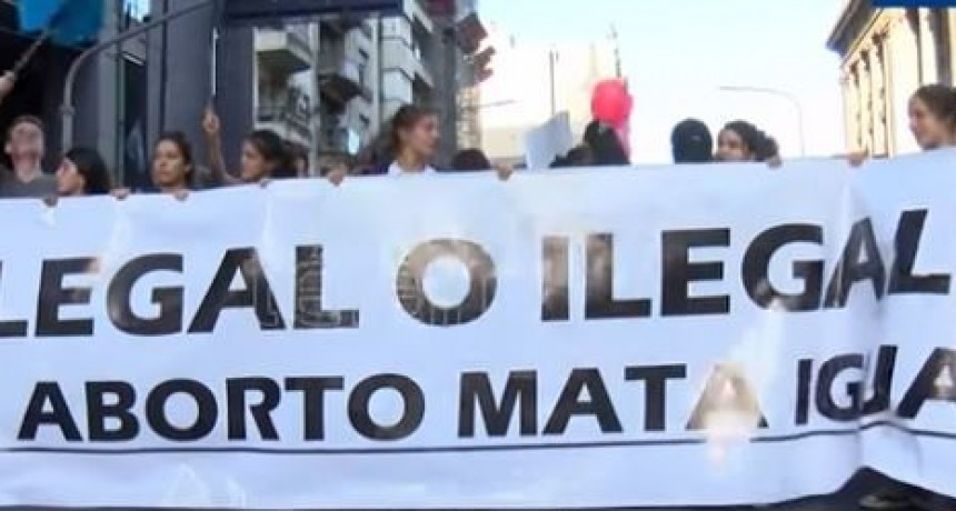 Marcha federal prevista para el 5 de agosto en contra de la despenalización del aborto