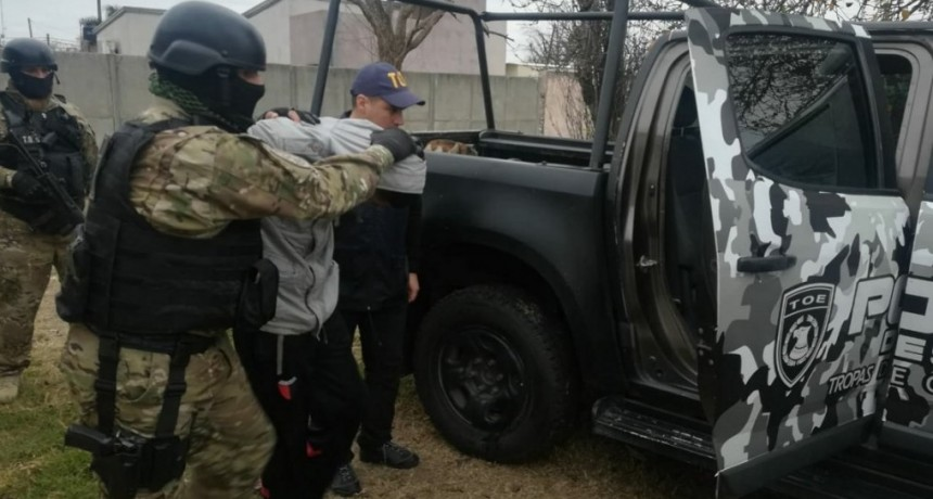 La compañía Tropa de Operaciones Especiales detuvo a un hombre que estaba prófugo por homicidio