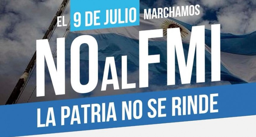 FESTRAM marcha contra el FMI el 9 de julio