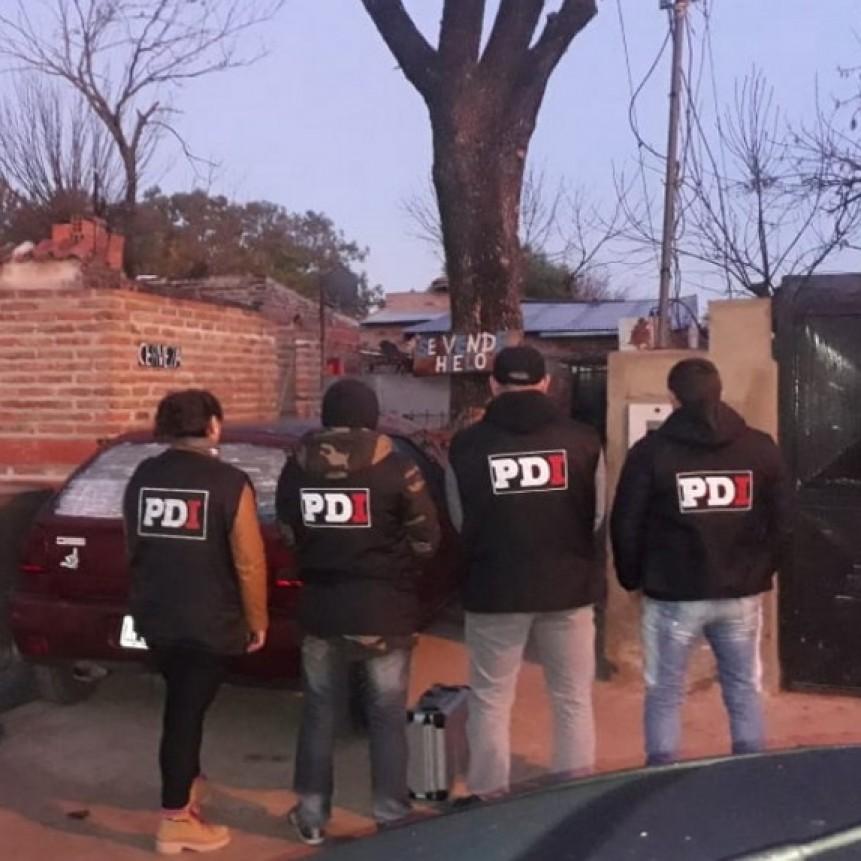 La PDI detuvo a cuatro personas por amenazas calificadas