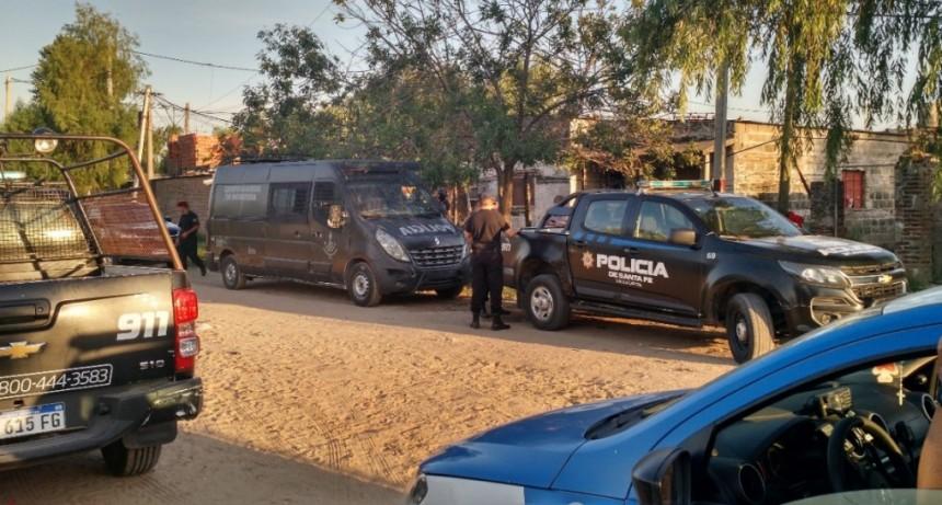 La policía santafesina detuvo a 25 personas en el departamento La Capital