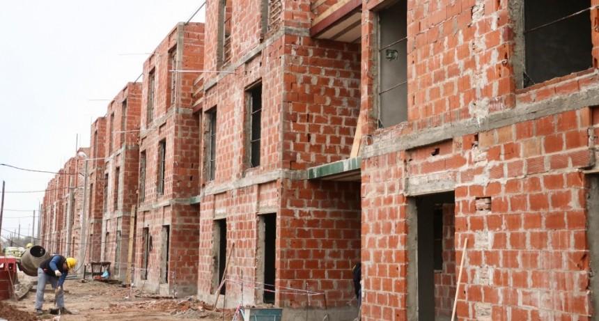 La provincia finalizaría la construcción de viviendas en Esmeralda Este II el año próximo