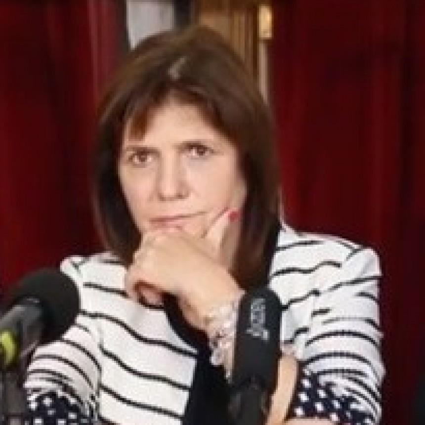 Patricia Bullrich descartó un problema social en diciembre