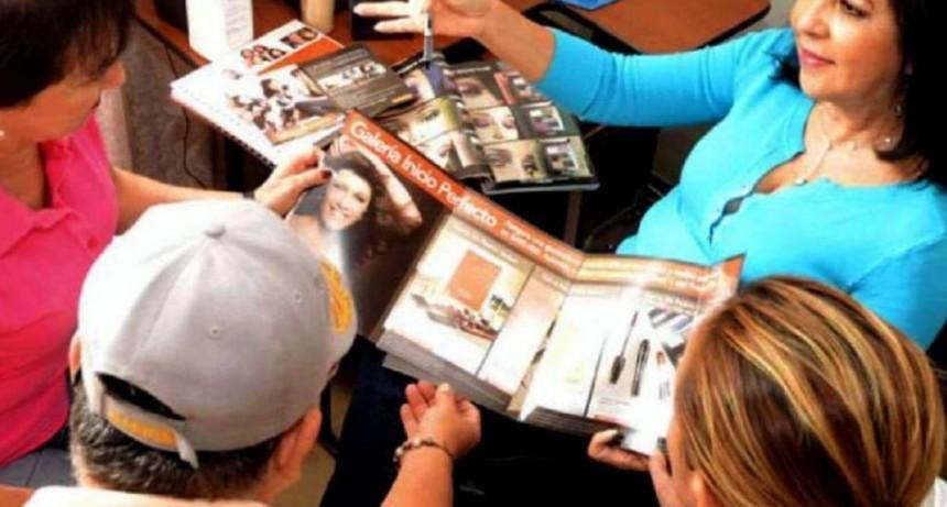 Aumenta la cantidad de personas que venden por catálogo