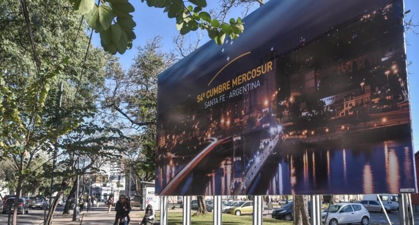 La Cumbre del Mercosur se desarrolla en la ciudad de Santa Fe