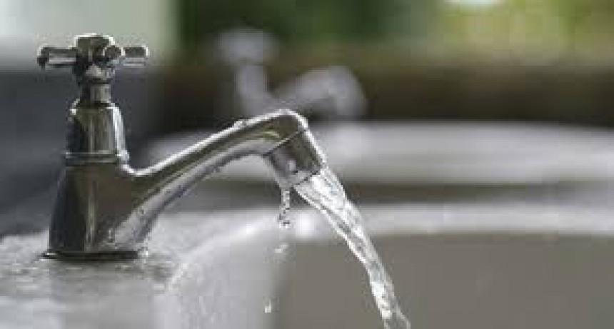 Baja presión de agua potable en Barrio Sur