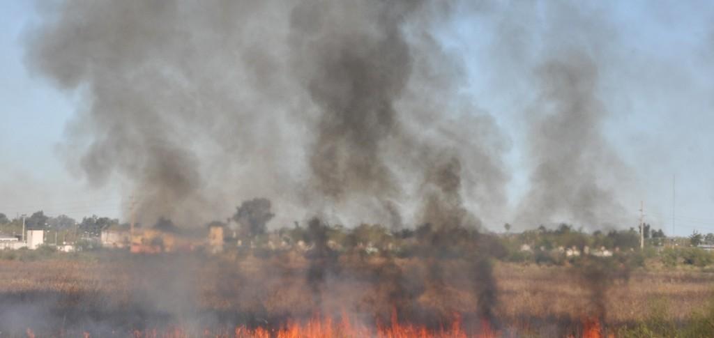 Los bomberos intervinieron en 60 incendios en lo que va del mes en Santa Fe