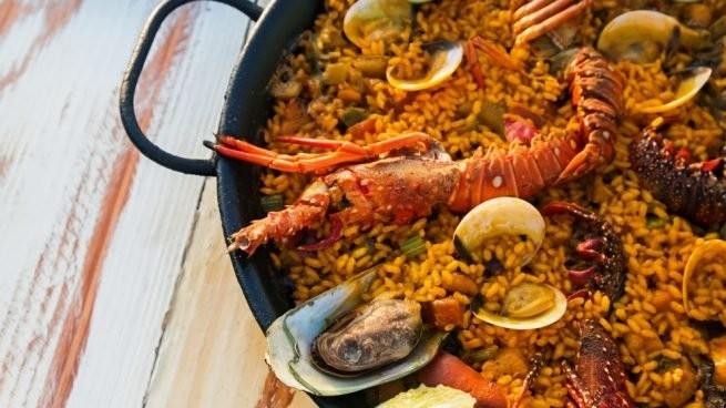 Clásico español: Paella Marinera