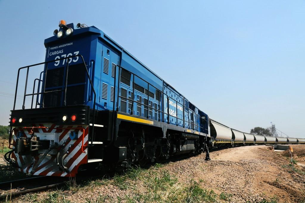 El tren de cargas pasaría en cercanías del río Salado