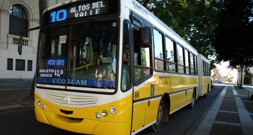Paro nacional de colectivos: Los chóferes exigen el pago de aguinaldo