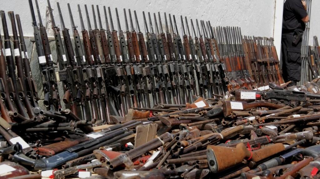 El canje voluntario de armas se realiza hasta el sábado en la ciudad