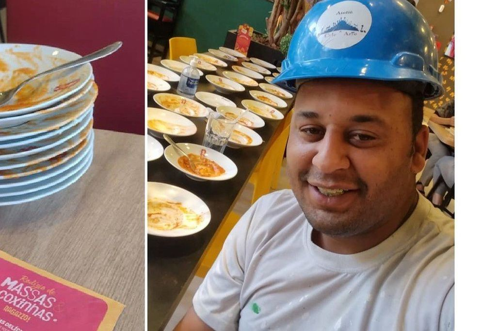 Un hombre fue echado de un restaurante tras comer 15 platos de pasta