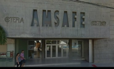 Amsafé define un plan de lucha por la reapertura de la paritaria docente