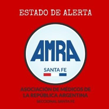 AMRA se declaró en estado de alerta por el déficit sanitario en la provincia