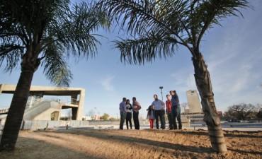 Las obras en el Plaza Alberdi avanzaron un 75 por ciento