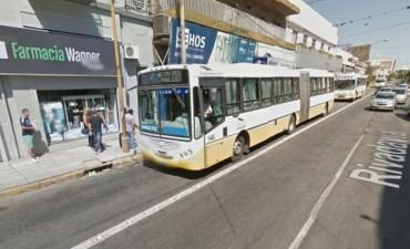 El Concejo aprobó cambios en el carril excluviso de calle Rivadavia