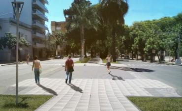 Las obras en el Paseo Boulevard finalizarían en noviembre