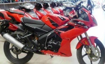 El patentamiento de motos subió cuarenta y siete por ciento en julio