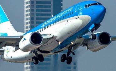 Aerolíneas Argentinas suspendió su servicio a Caracas por seguridad