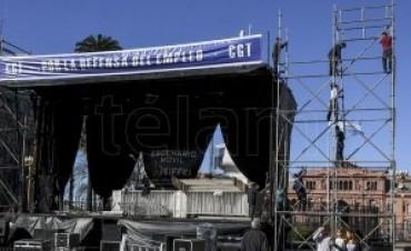 La CGT se moviliza mañana hacia Plaza de Mayo