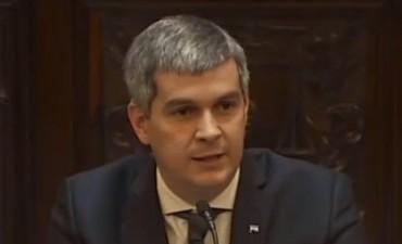 Marcos Peña dará el miércoles el informe de gestión a Diputados
