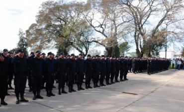 Acto central por el 153° aniversario de la Policía provincial