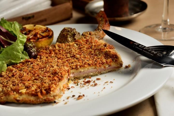 Cocinamos: Milanesa de cerdo con papas aplastadas