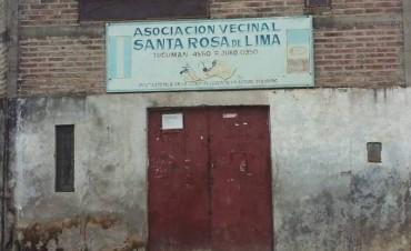 Una ONG realiza una campaña para arreglar la vecinal de Santa Rosa de Lima