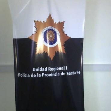 La policía realizó más de 350 aprehensiones en el departamento La Capital durante agosto