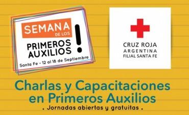 La ciudad de Santa Fe forma parte de la semana de los primeros auxilios