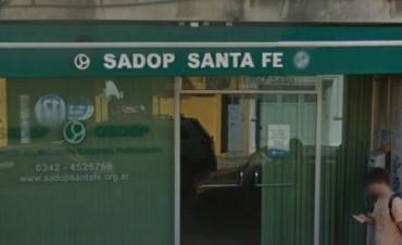 Sadop rechaza el examen nacional Aprender en Santa Fe